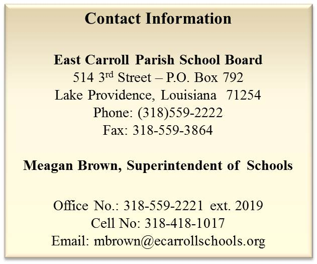Meagan Brown,  Superintendent